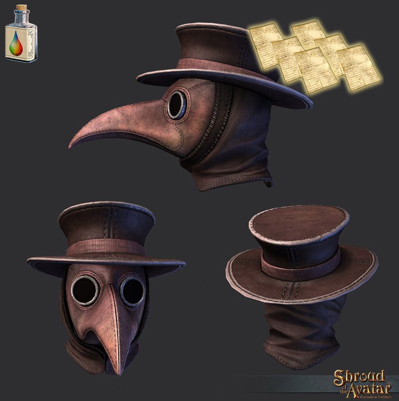 Plague Doctor Mask Pattern